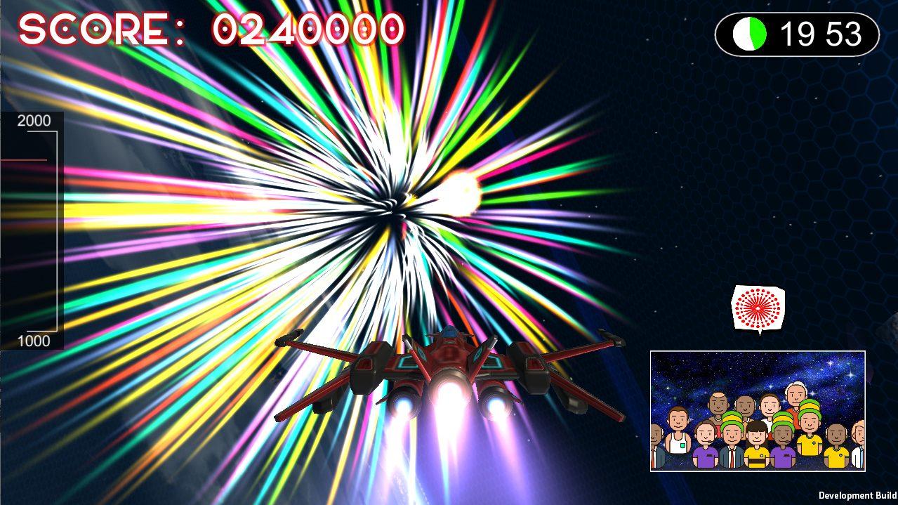完成したゲーム画面